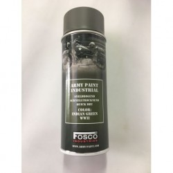 FOSCO Spray army paint 400 ml-indian green WWII