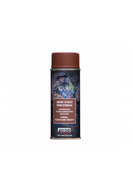 FOSCO Spray army paint 400 ml-flecktarn braun