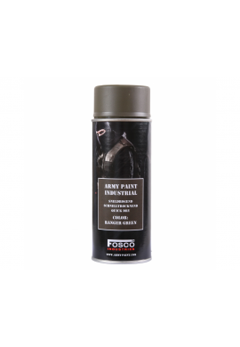 FOSCO Spray army paint 400 ml-ranger green