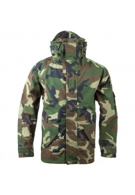 MIL-TEC US WET WEATHER JACKET-woodland