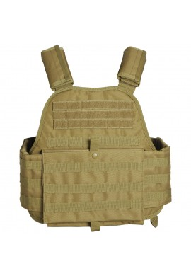 MIL-TEC PLATE CARRIER VEST-coyote