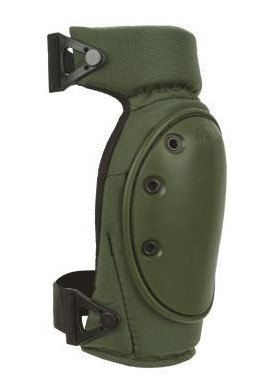 ALTA - CONTOUR LC™ Long Cap Knee Pads - OD Green