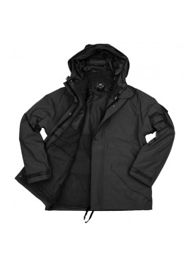 101 INC-MILITARY PARKA Black