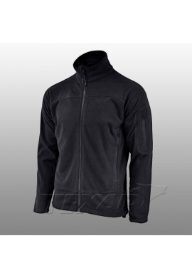 Fleece jacket CONGER Mαυρο