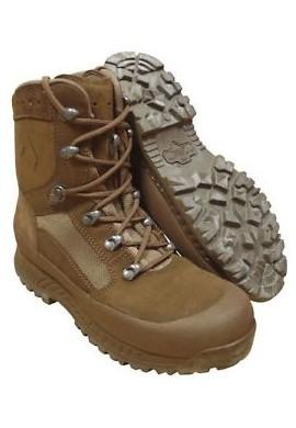 "GB Combat Boots, ""Haix"", Brown"