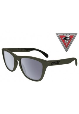 SI Frogskins JAMES DIETZ Moss/Grey Oakley