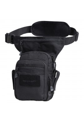 THIGH POUCH PENTAGON MAX-S 2.0 BLACK