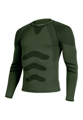 LASTING-APOL Light Seamless 180gr thermal t-shirt-green