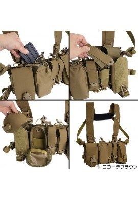 Direct Action Adaptive Green THUNDERBOLT COMPACT CHEST RIG®