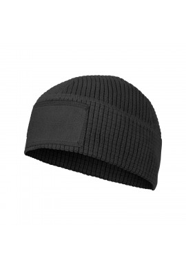 RANGE Beanie Cap® - Grid Fleece Black