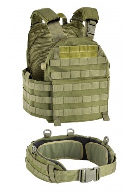 DEFCON 5 VEST CARRIER WITH BELT 1000 D-od