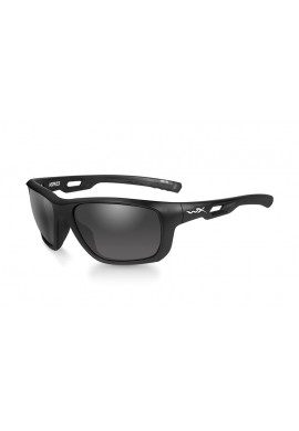 ASPECT Smoke Grey Matte Black Frame Eyewear