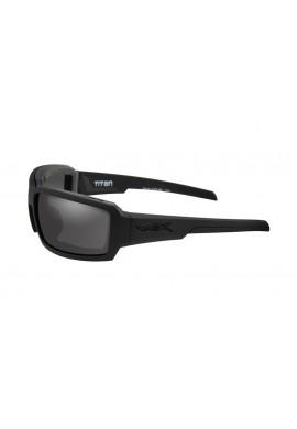 TITAN Smoke Grey Matte Black Frame Eyewear