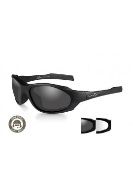 Eyewear XL-1 AD COMM Smoke/Clear Matte Black Frame