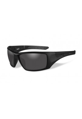 NASH Smoke Grey Matte Black Frame Eyewear
