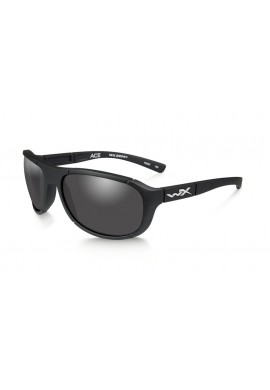 ACE Smoke Grey Matte Black Eyewear