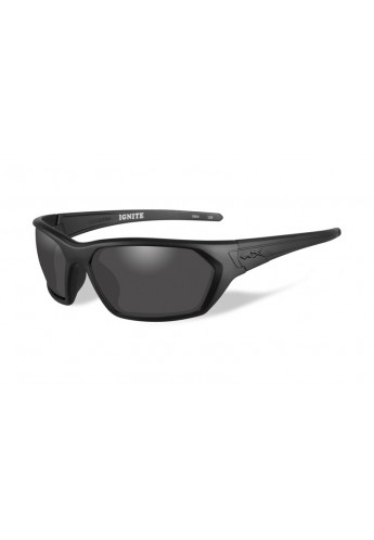 IGNITE Smoke Grey Matte Black Frame Eyewear