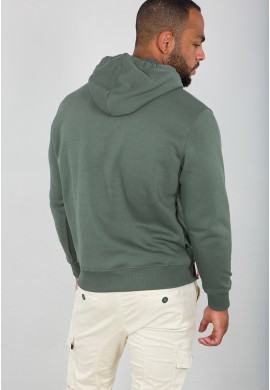 Basic Hoody Vintage Green
