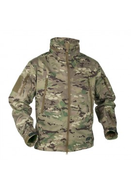 HELIKON-TEX GUNFIGHTER Jacket-Shark Skin Windblocker-camogrom