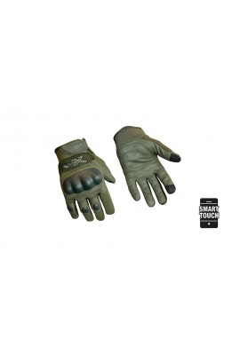 Gloves DURTAC SmartTouch-foliage green