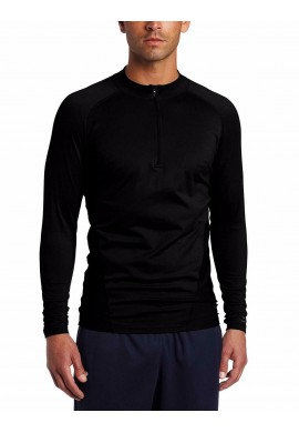 BLACKHAWK!® Engineered - Fit 1/4 - zip Long Sleeve Shirt BLACK