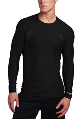 Black hawk Engineered Fit Shirt with Long Sleeve and Crew Neck BLACK