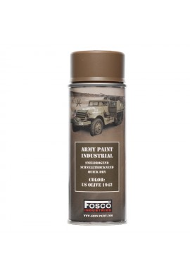 Spray army paint 400 ml-olive 1942