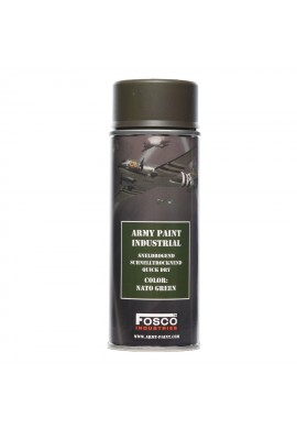 Spray army paint 400 ml-nato green