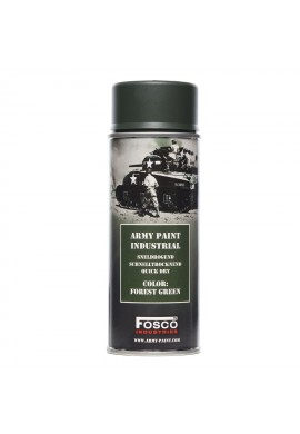Spray army paint 400 ml-forest green